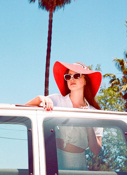 Lana Del Rey is nominated for 'Favorite Female... - Honeymoons & Oil Tycoons.