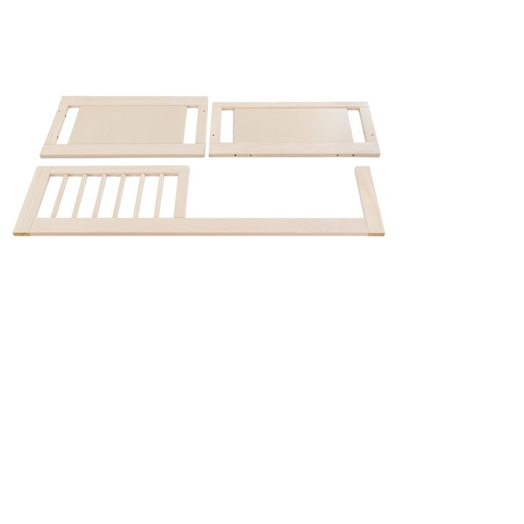 Babyletto Junior Bed Crib Conversion Kit - Washed Natural