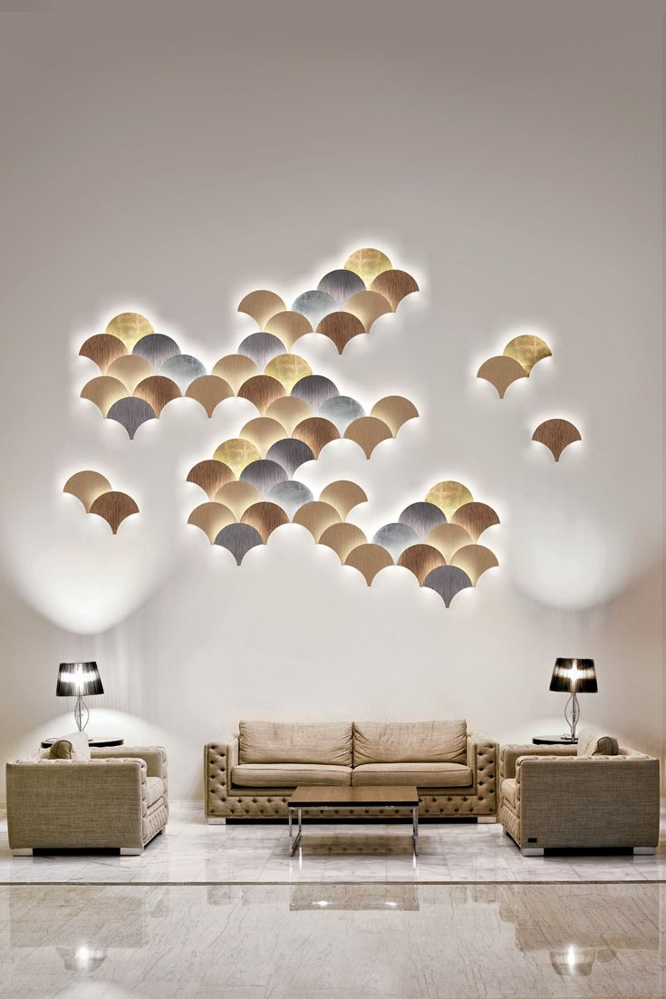 Exclusive Contemporary Wall Light Installation   Contemporary wall ...