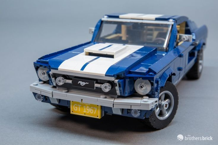 LEGO Creator Expert 10265 Ford Mustangは、これまでで最高のレゴカーですか? [Review – lego