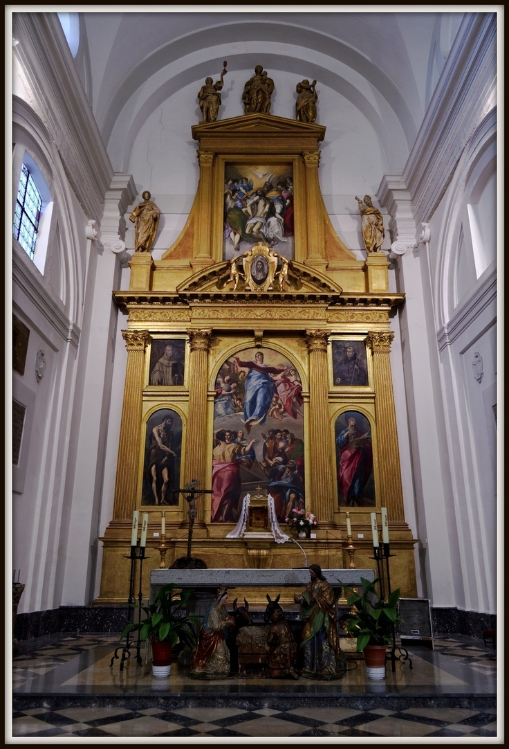 Retablo del altar mayor de Santo Domingo el Antiguo. Toledo