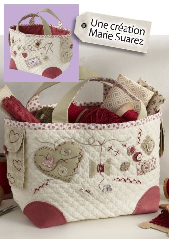 Retalhos bordados kit de costura: @Yolanda Imamura Imamura Imamura Imamura Imamura Suarez a relation of yours?? ;-)