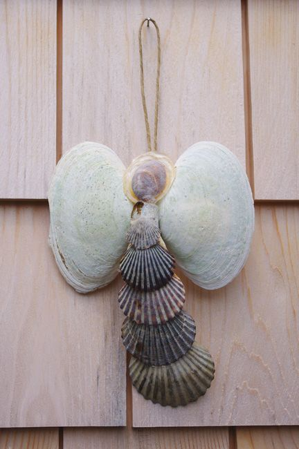 Seashell Christmas Ornaments Homemade
