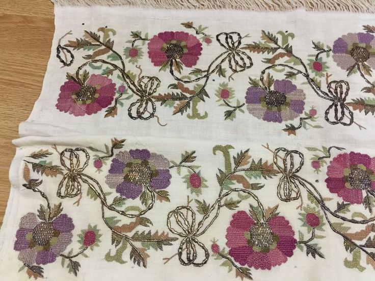 ottoman embroidery towel  large 3 12*****