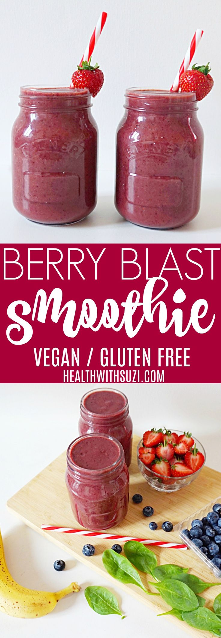 This is the perfect healthy breakfast smoothie! It's delicious, great for weight loss and it's full of vitamins and minerals! I love it!