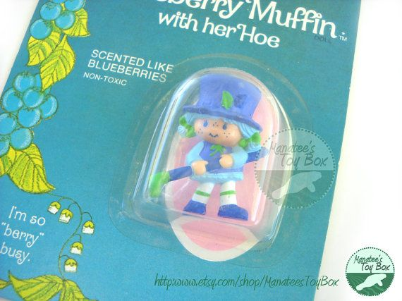 Unopened Blueberry Muffin Miniature from by ManateesToyBox on Etsy, $14.85