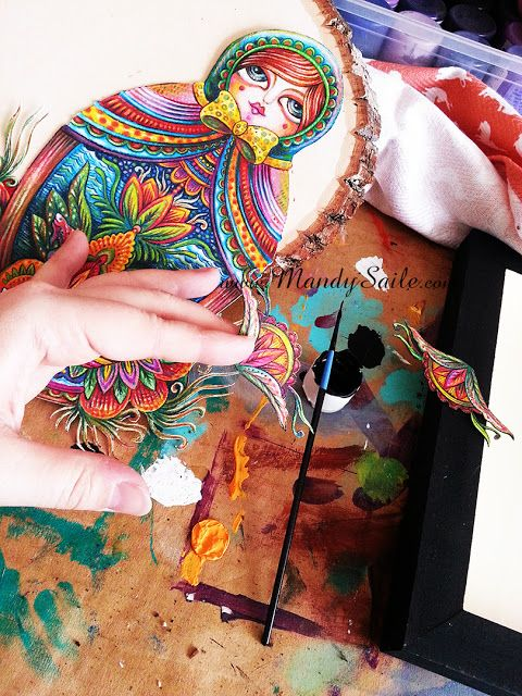 Mandy Saile - Creating Joyfully Whimsical Coloured Pencil Art Whiles Living With Happy House Rabbits: I Messed Up