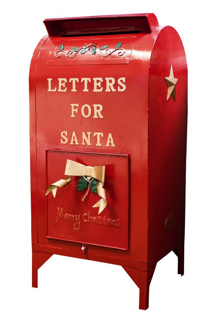 Buzones De Santa, Navidad, Buzón De Correo, Carta, Rojo #rojo #red #color #colour