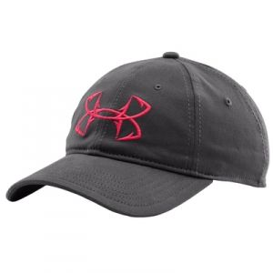 Find the under armour women 39 s fish hook cap graphite for Fishing apparel hats