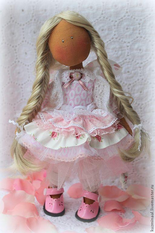 Коллекционные куклы ручной работы. Ярмарка Мастеров - ручная работа Текстильная кукла MELANY. Handmade.
