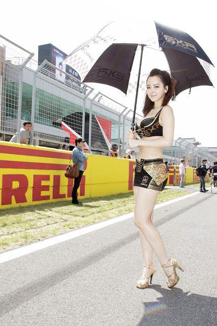 CuteKorean: Im Ji Hye, CJ SuperRace R1 2013
