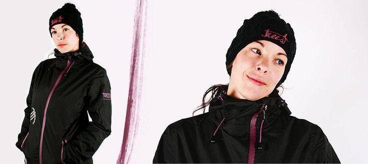 Jacket Refuge #TM-022W Beanie #TM-033W