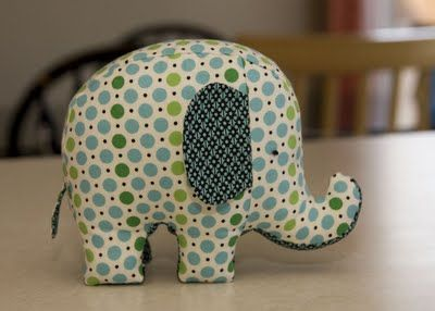 Pin cushion elephant