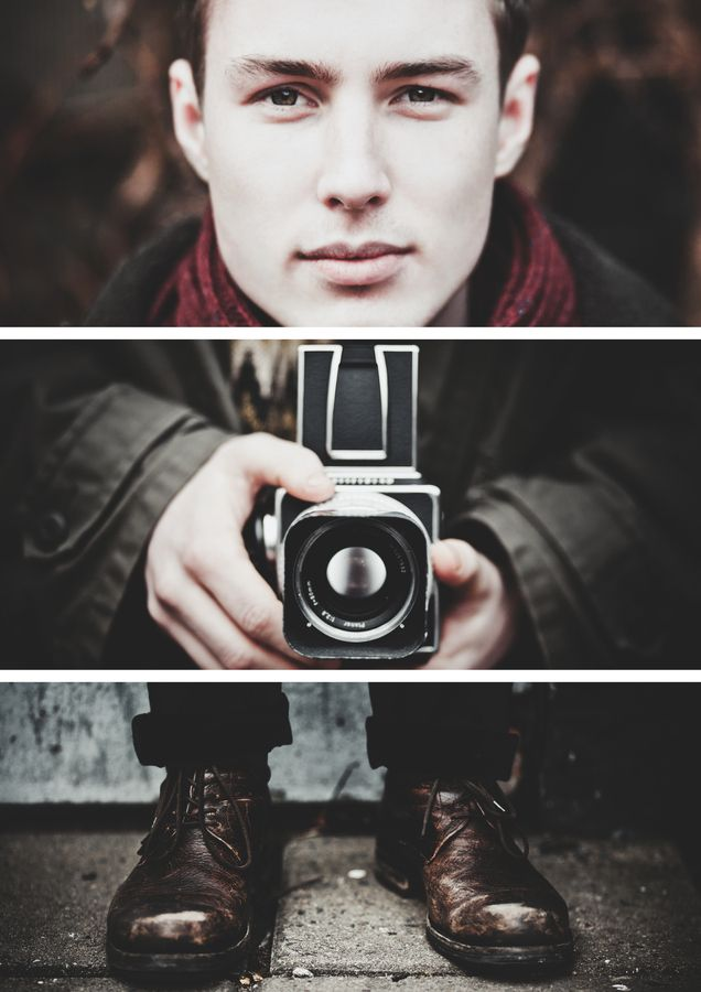Fantastic triptych with a Hasselblad.
