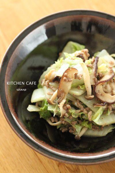 白菜とひき肉の味噌炒め by uzukajiさん | レシピブログ - 料理ブログ ...