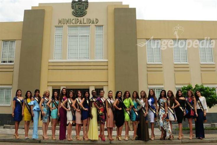 Miss Ecuador 2017 Press Presentation