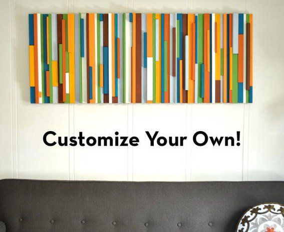 DIY Customized Painted Wood Art