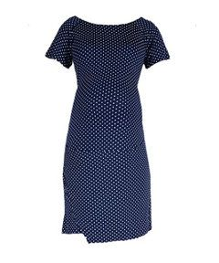 Oh Ma! Navy Spotted Maternity Dress http://www.parentideal.co.uk/mothercare---maternity-dresses.html