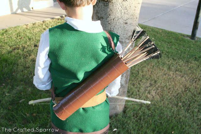 Robin Hood & Little John {Halloween 2012} - The Crafted Sparrow