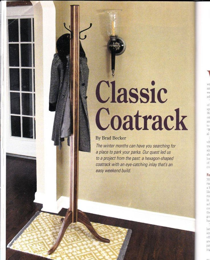 The Dale Maley Family Web Site - Classic Coat Rack