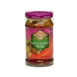 Patak's Hot Mango Relish - 3 Packages of 10 oz (Misc.)By Patak's