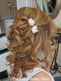 Weekly Wedding Hair Inspiration 2013 – The Half Up, Half Down Styles | Fashion Trendy