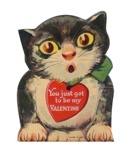 Kitty Vintage Valentine My Vintage Valentine Collection