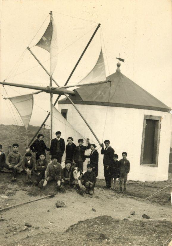 El Molino de viento de Sta Rosa en 1924