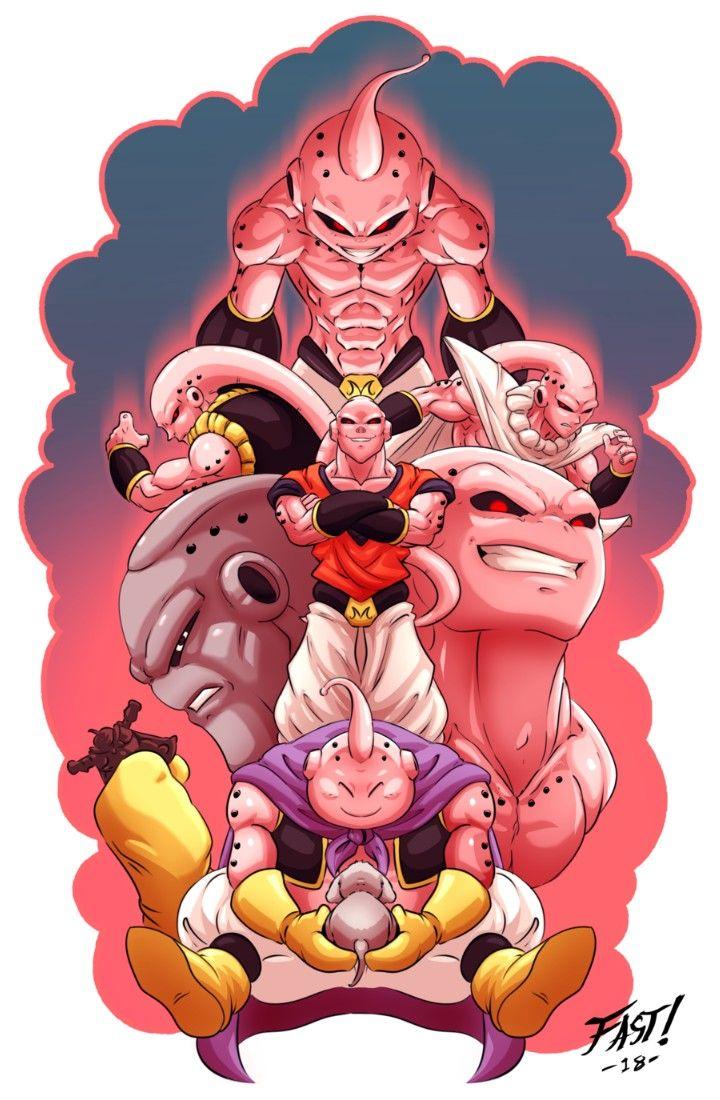 Majin Buu Dragon Ball Z Anime Dragon Ball Super Dragon Ball Super Goku Dragon Ball Gt