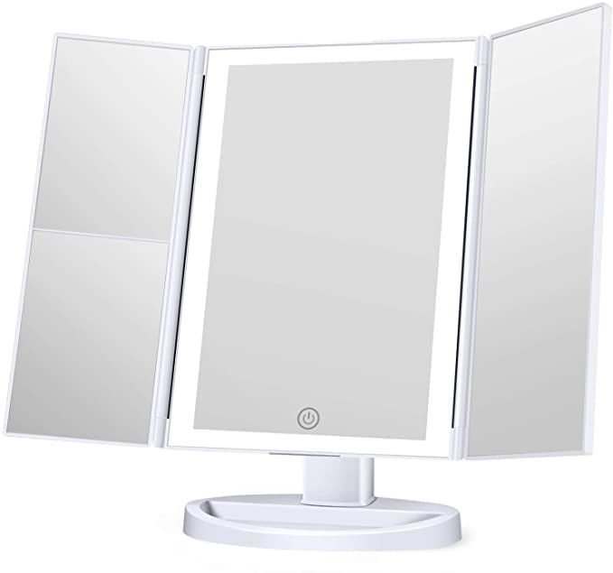 Amazon Com Koolorbs 2020 Updated Version Makeup Mirror With Lights 3 Color Lighting Vanity