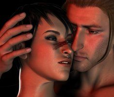 Lost in You by *Bettycake on deviantART My own DA creation. Anders and Hawke.