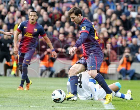 Alexis Sánchez & Lio Messi, FC Barcelona | FC BARCELONA 6 - GETAFE 1. [10.02.13]