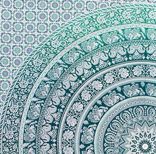 fairdecor Nouveau Vert éléphant Ombre Double ombragées Mandala tapisseries Exclusif Ombre Bohemian Tapisserie Suspension Murale Mandala mur tapisseries Hippie de plage fairdecor https://www.amazon.fr/dp/B0198F3TT6/ref=cm_sw_r_pi_dp_PvUexb39CFYA9