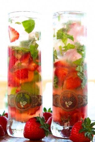 Strawberry basil mojito | Favorite Recipes | Pinterest