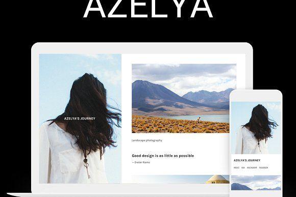 Azelya Side by SideThemes on @creativemarket