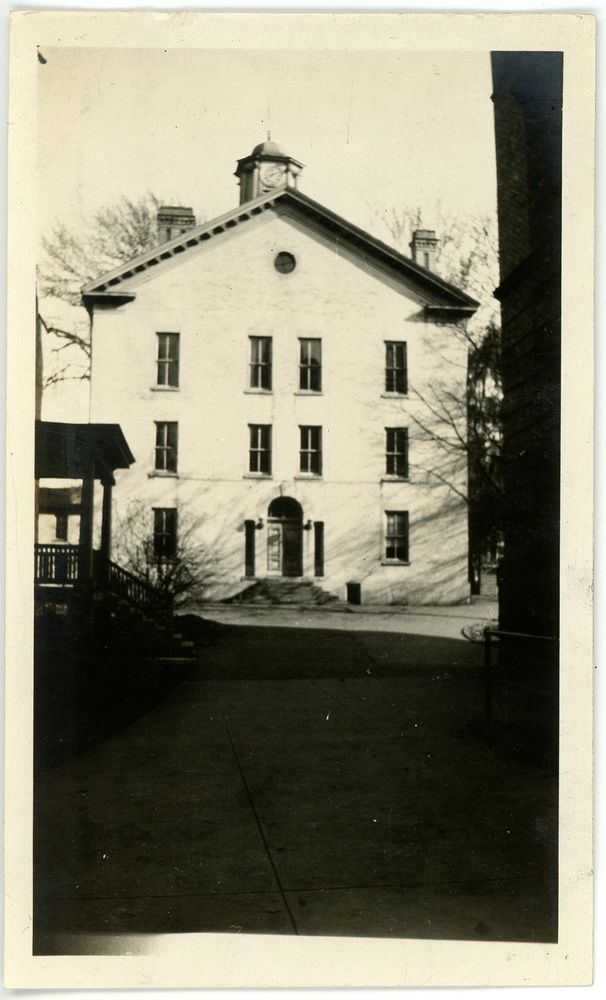 1926 Photo Ohio University Athens OH View of Cutler Hall Building