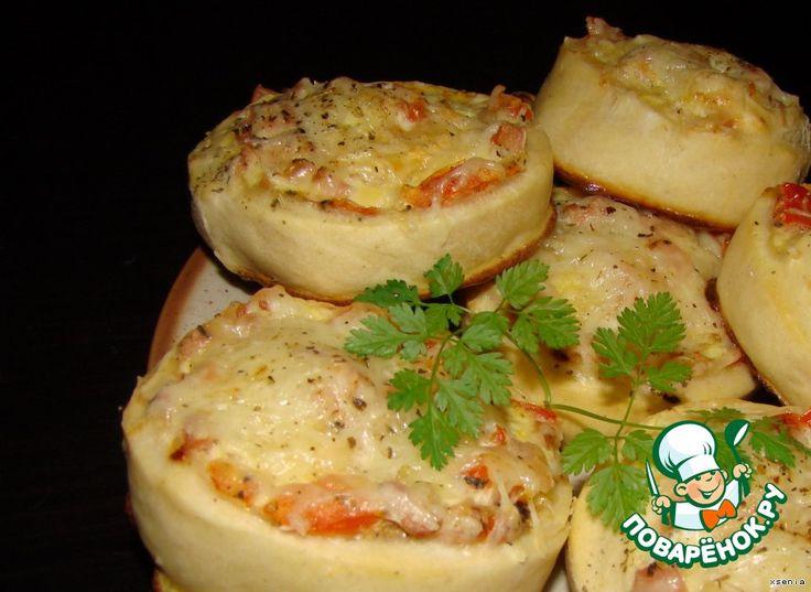 Мини пиццы-пироги - кулинарный рецепт
