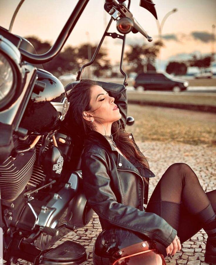 #AutoundMädchen-Lady bikers – #bikers #lady – Auto und Mädchen – #Auto #BIKERS…