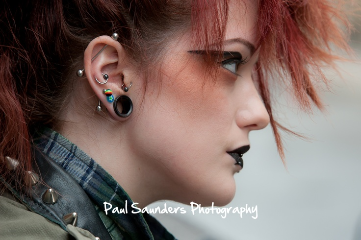 On the streets of Glasgow, a creative photography shoot for this excellent model.