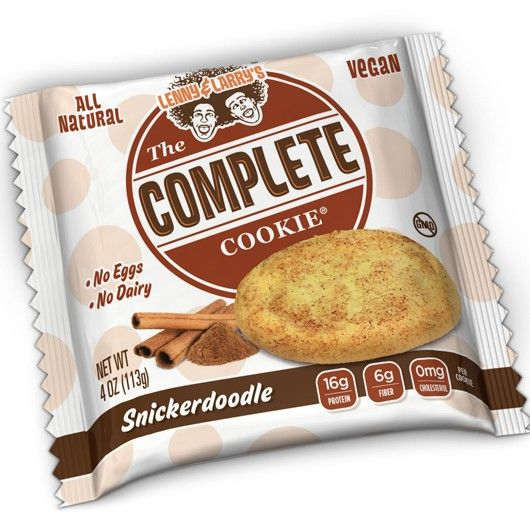 Complete Cookie - Snickerdoodle from Muscle Food  -  Muscle Food is proud to bring you the brand NEW flavour of Lenny & Larry's best selling Complete Cookie – Snickerdoodle!