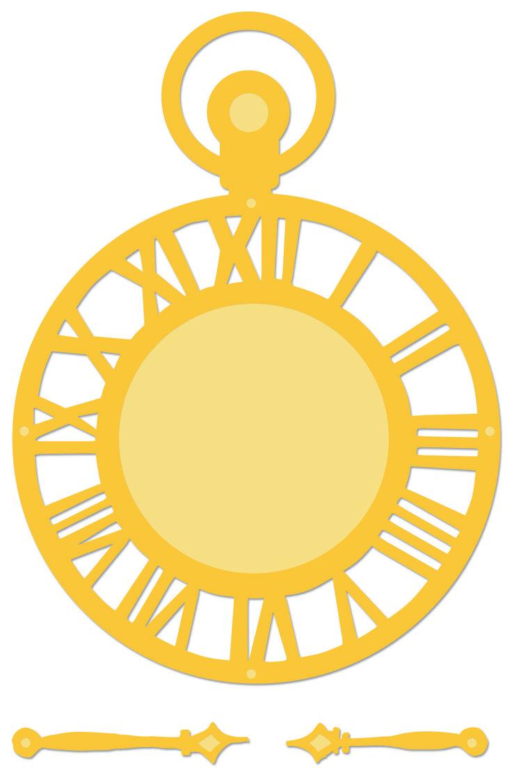 Kaisercraft Decorative Dies | Clock | DD303