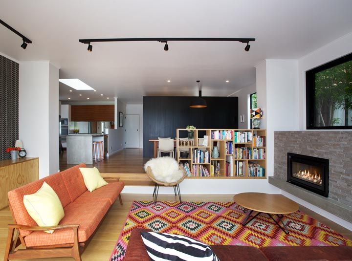 Old House gets a Modern Expansion with Escea Fireplace
