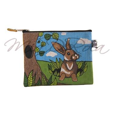 Pencil Case for Children with Rabbit Martin - MiaDeRoca