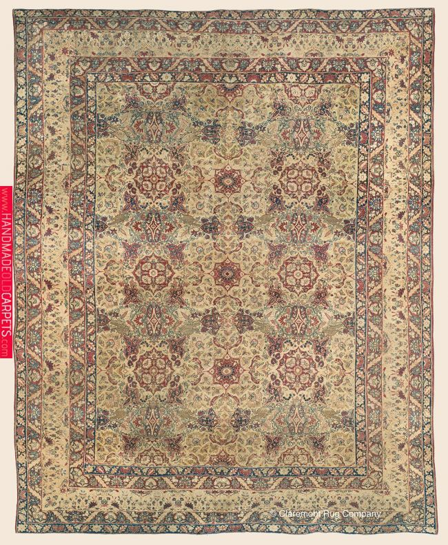 Laver Kirman Southeast Persian Antique Rug 8 7 X 10 3 2nd Quarter 19th Century Click To Learn Mo 50 Best Of Their Typ Rugs Antique Carpets Rugs On Carpet