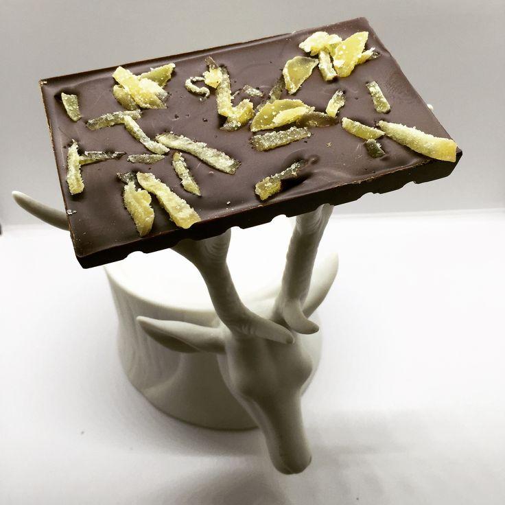 Dark Chocolate Ginger Tablet