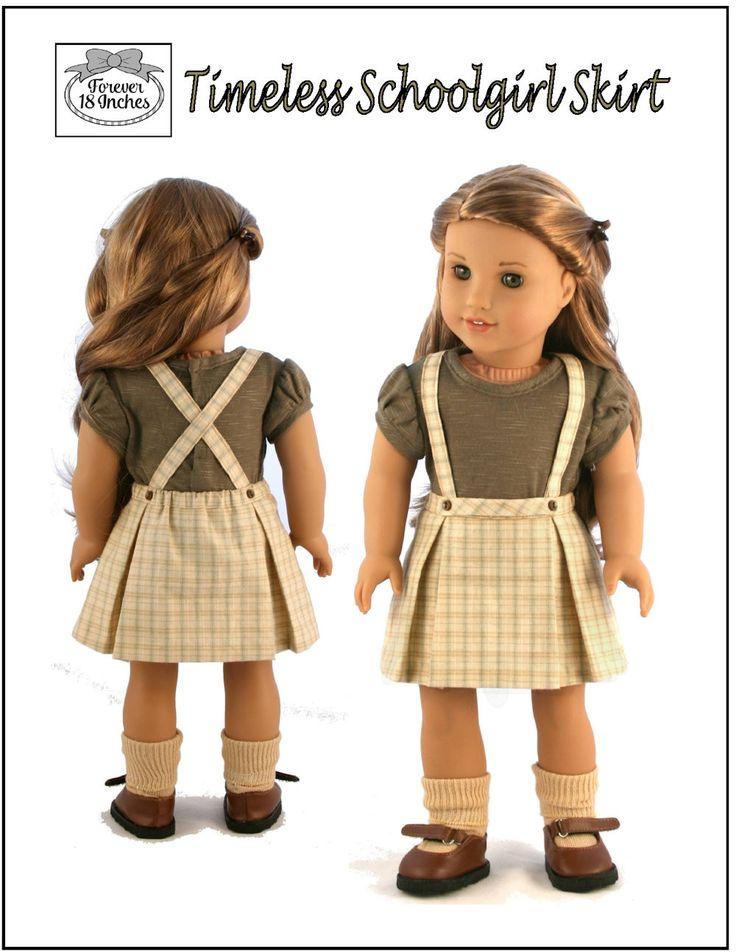 Mejores 547 imágenes de Patrones ropa muñecas 18\