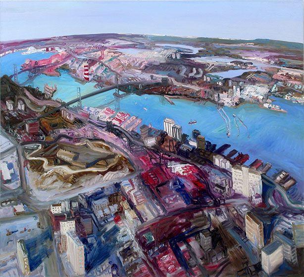 John Hartman: Halifax from above the Citadel, 2009