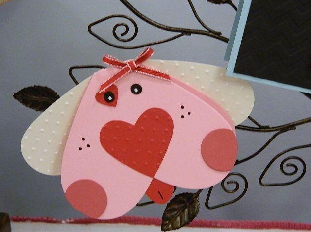 Valentine's Puppy Card with Tutorial CCREW0113DF
