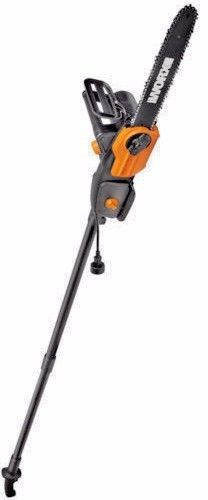 """NEW IN BOX  WG310 WORX 8"""" 8 Amp Electric Chainsaw including Extension Pole  #Worx"""