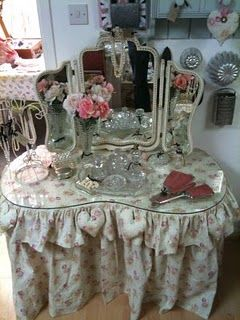Dressing Table With Skirt For The Home Pinterest
